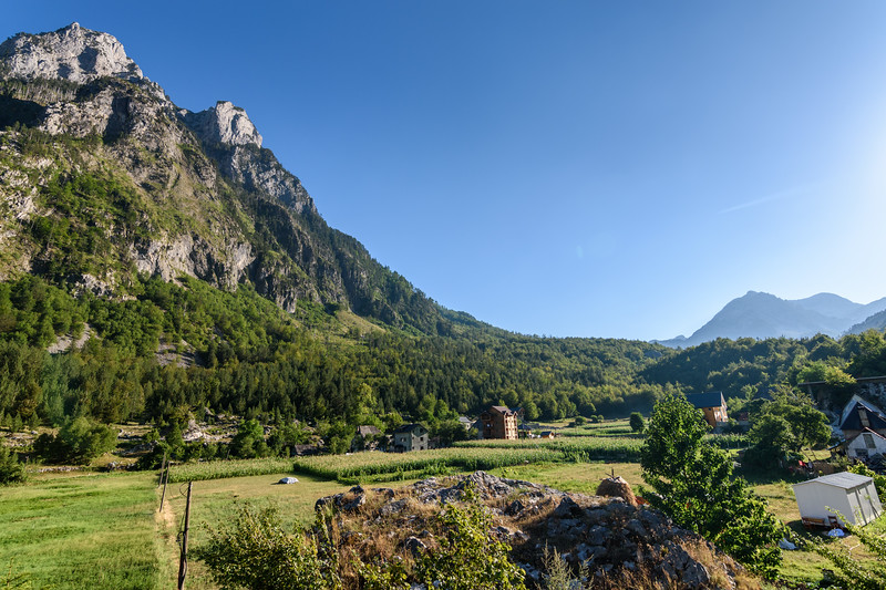 Valbone landscape