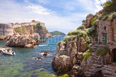 Coast at Dubrovnik
