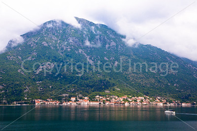 Town on the Bay of Kotor