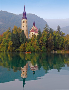Monastery At Lake Bled