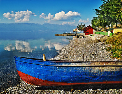 Shoreline - Lake Ohrid