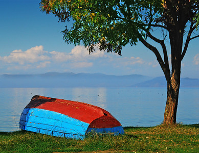 Macedonian Boat - Lake Ohrid