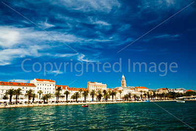 Split harbor and the Riva