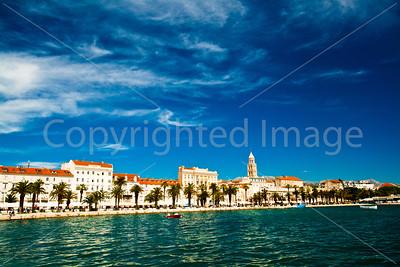 Split harbor and the Riva