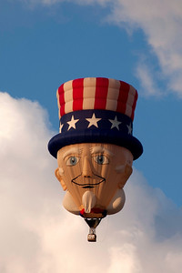 Uncle Sam, always a crowd favorite