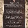 Southampton: Westgate sign