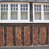 Southampton: Tudor House wall with timber and brick