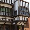 Southampton: Tudor House entryway and overhang