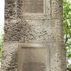 Southampton: Mayflower Monument: East side plaques