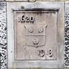 Southampton: Mayflower Monument: Dedication plaque