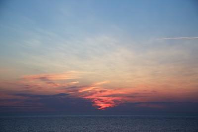 Baltic 15 July At Sea