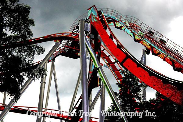 Roller Coaster - Tivoli Garden's Style (Copenhagen)