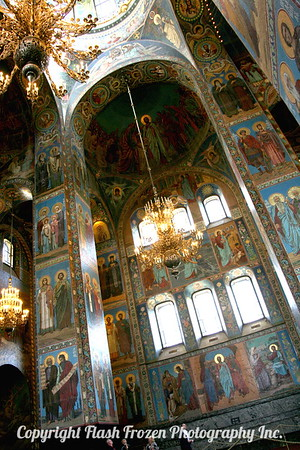 Church on the Spilled Blood, St. Petersberg, Russia