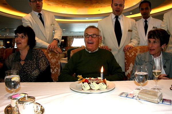 Happy Birthday to you! Happy Birthday To You!  Happy Birthday, Dear Jerry...