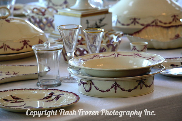 Grand Palace of Peterhof<br /> This is the china...notice that rimmed soup bowl...I know Vileroy and Boch China and I wish I could turn it over and show you - that's Villeroy and Boch..