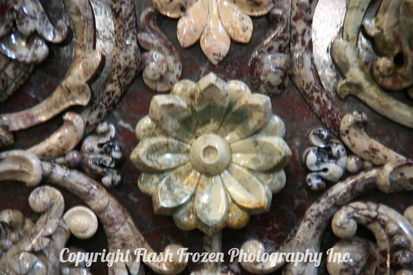 Church on the Spilled Blood, St. Petersberg, Russia (detail of the wall carvings)