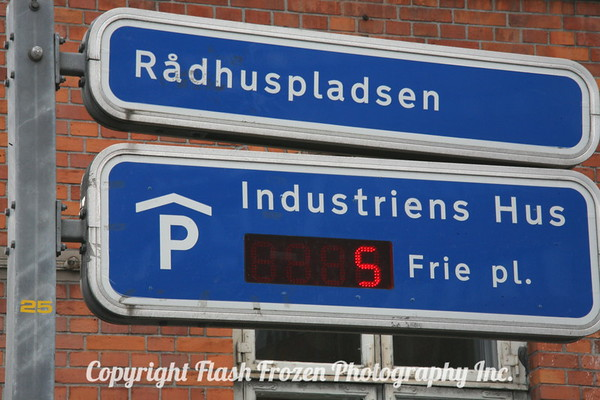 Copenhagen's City Plaza Radhuspladsen....