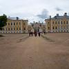 Approaching the Gate to Rundāle Palace, Pilsrundāle