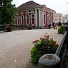 Entrance to Rundāle Palace.  Pilsrundāle