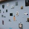 Artwork Tributes to Lithuanian Literary Tradition, Literatu Street, Vilnius