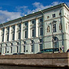 The Hermitage Theater on the Neva River