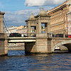Lomonosov Bridge Over the Fontanka River