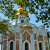 Detail of the Dormition Cathedral, Kiev-Pechersk Lavra (Monastery of the Caves), Kiev