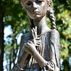"""""""Bitter Memory of Childhood"""" Statue at Holodomor Memorial, Kiev"""