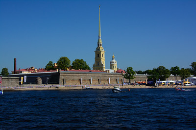 On the Neva looking over towards