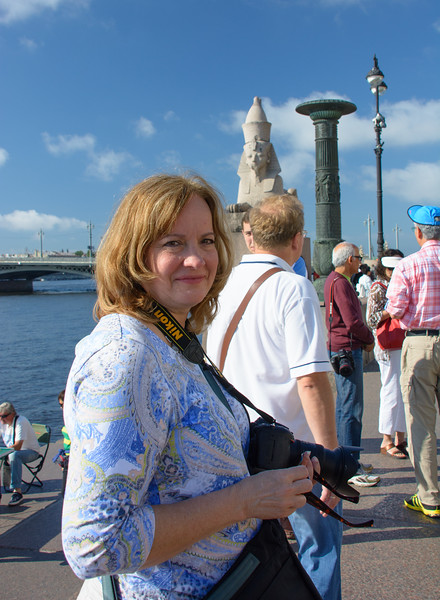 Molly in St Petersburg