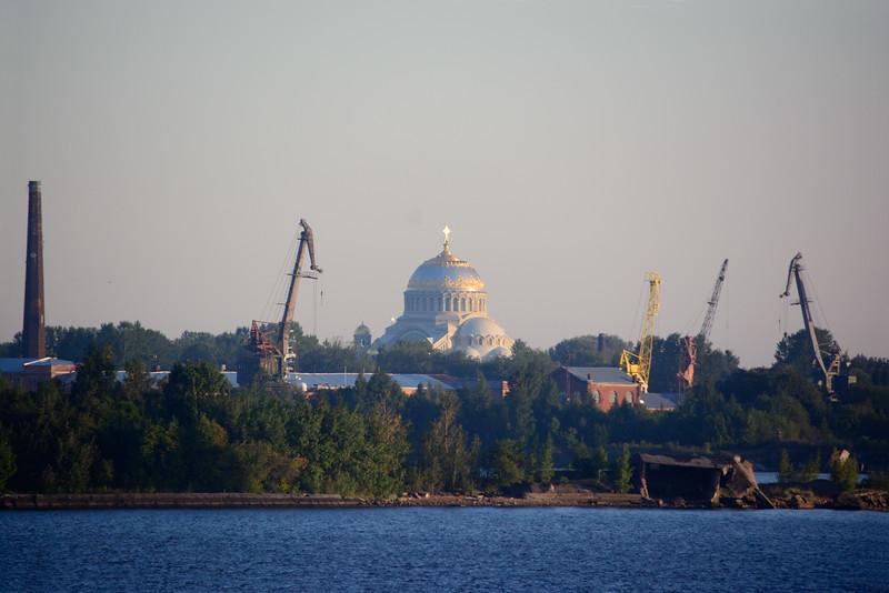 Coming in to St Petersburg Harbor