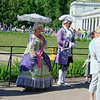 In the costumes of the time of Peter the Great