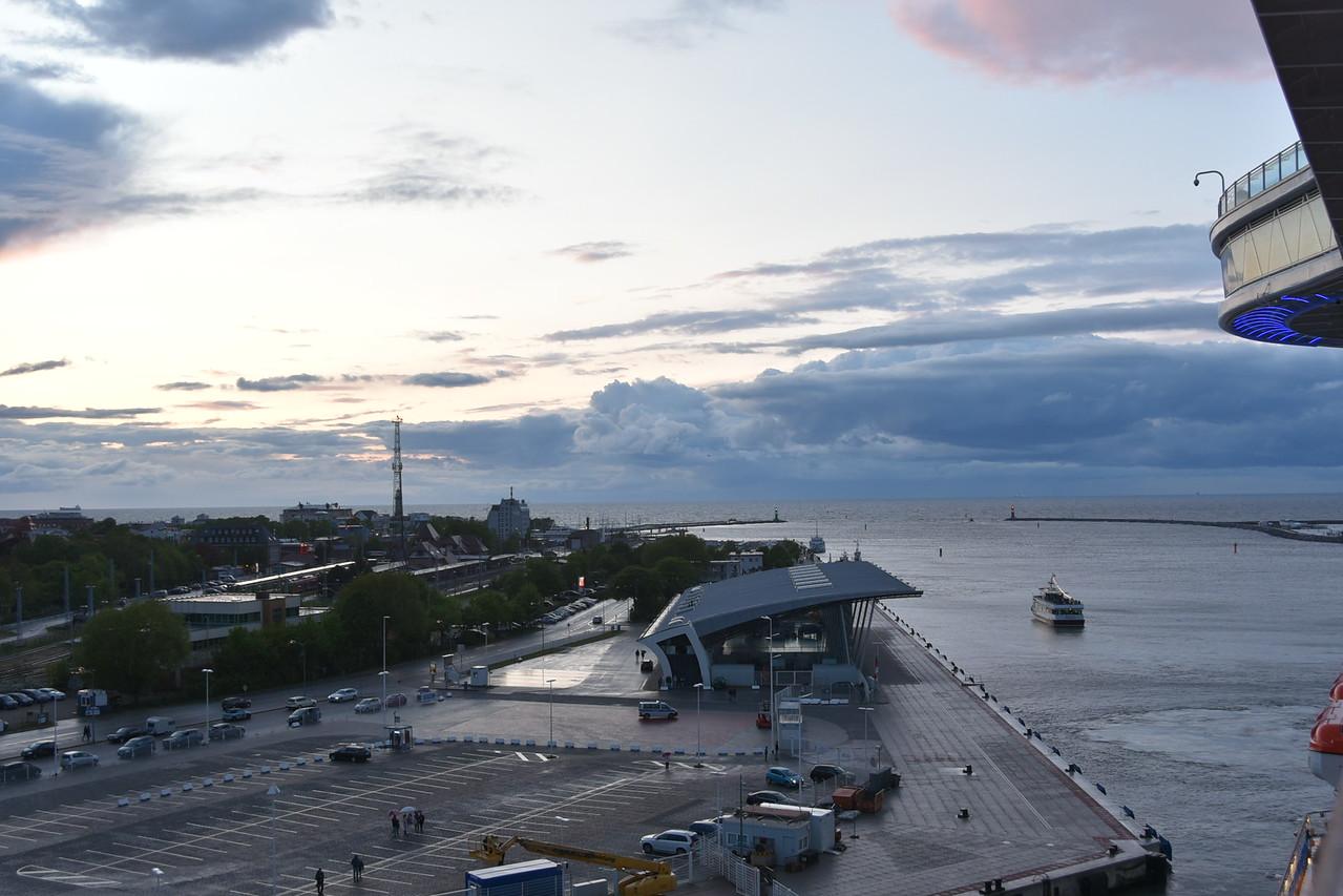Embarkation Port, Warnemunde Germany
