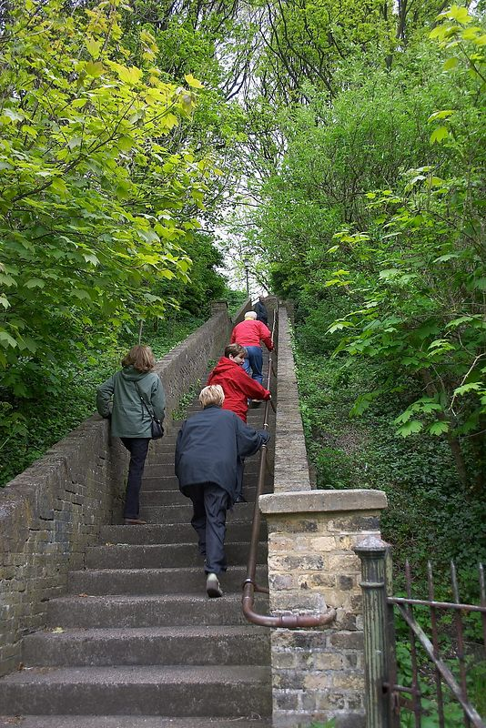 Steps to Dover Castle