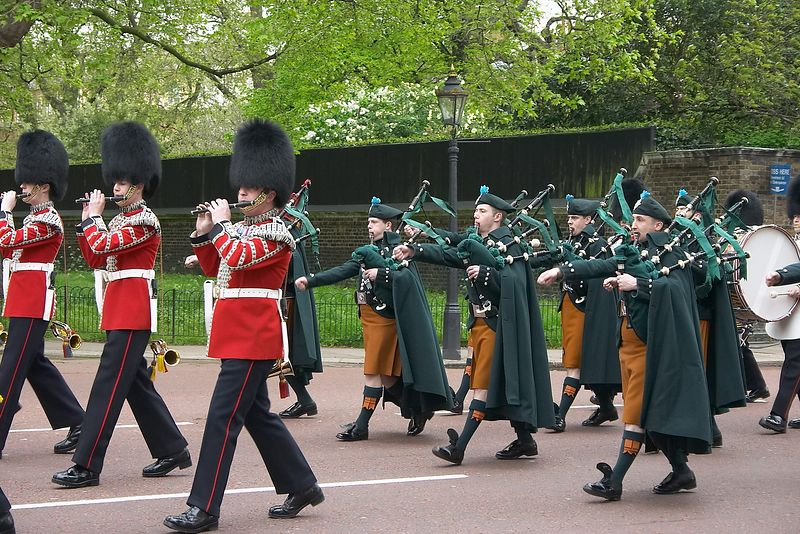 Buckingham Palace- Guards