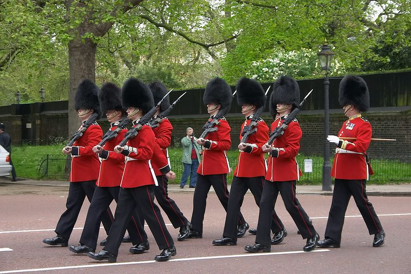 Buckingham Palace - Guards