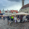Panorama of Town Hall Square.