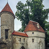 Medieval defensive walls of Tallinn (started 1265 AD).