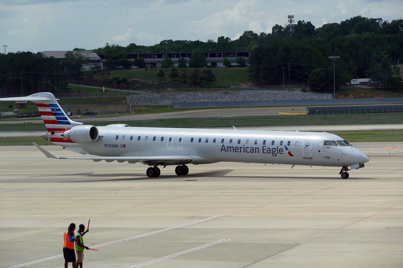 Our ride from Birmingham to Charlotte.