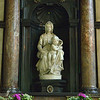 "This famous Michaelango sculpture, ""Madonna With Child"", is located in the Church Of Our Lady.  It was purchased by wealthy merchants and donated to the church in 1514.  Twice since then, it has been stolen.... in 1794 by French revolutionaries, and again in 1944 by the Nazis."