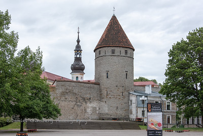 Towers' Square in Tallinn, Estonia.
