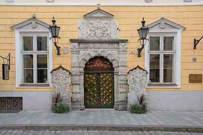 Brotherhood of the Blackheads was a guild for unmarried merchants and shipowners and now houses the Tallinna Filharmoonia (Philharmonic Society) in Tallinn, Estonia.