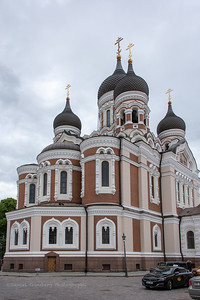 Alexander Nevsky Cathedral in Tallinn, Estonia.