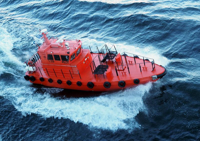 Leaving Helsinki - Pilot Boat
