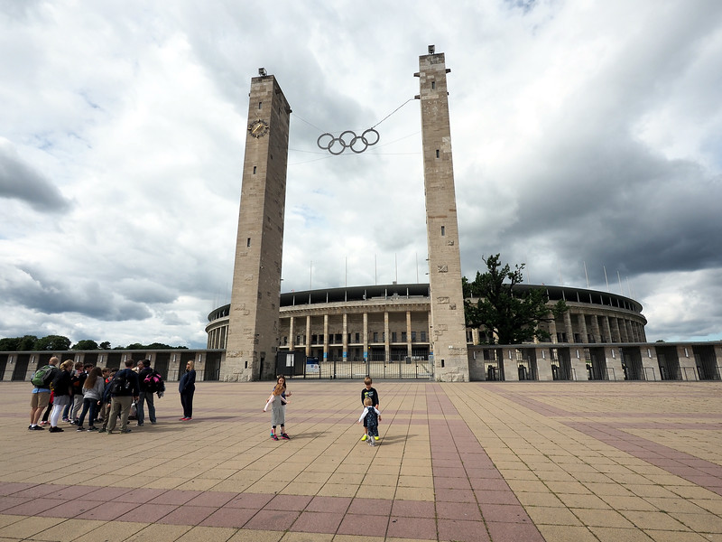 Nazi Olympic Stadium
