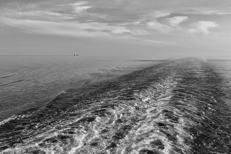 Looking back, Baltic Sea
