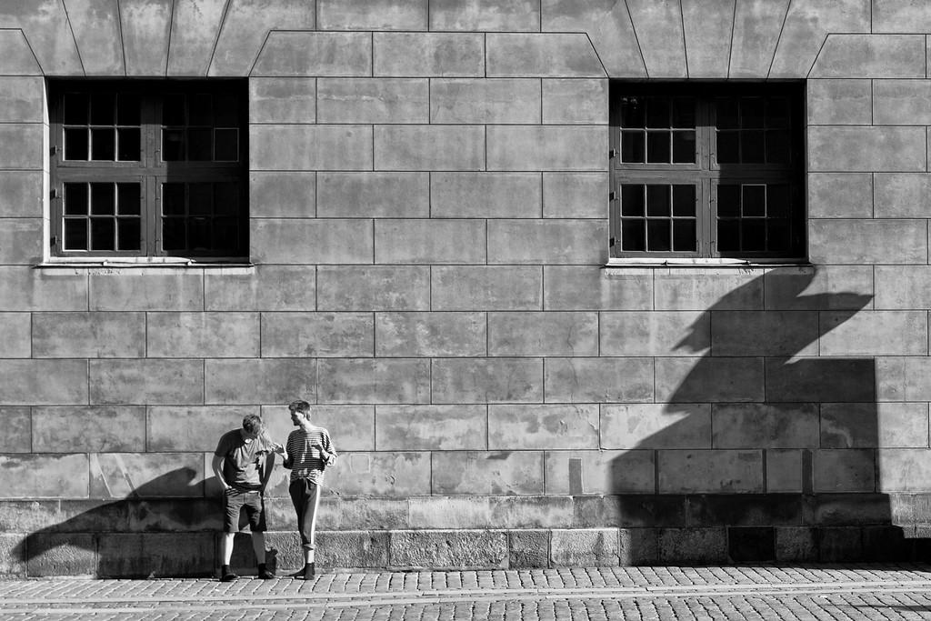The shadows, Copenhagen, Denmark