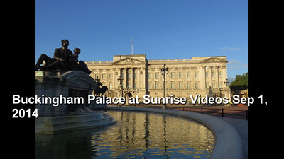 Buckingham Palace at Sunrise Videos