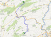 Sunday, July 28, Colonel Denning State Park to Poe Paddy State Park. 65.1 miles, 9.8 mph.