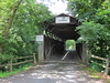 A covered bridge in Port Royal, PA.